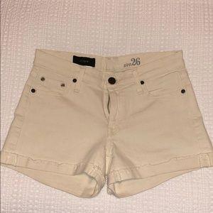 J. Crew beige shorts